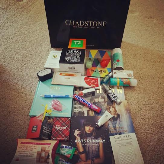 Chadstone VIP Runway AW15 Runway Show. My gift bag haul!