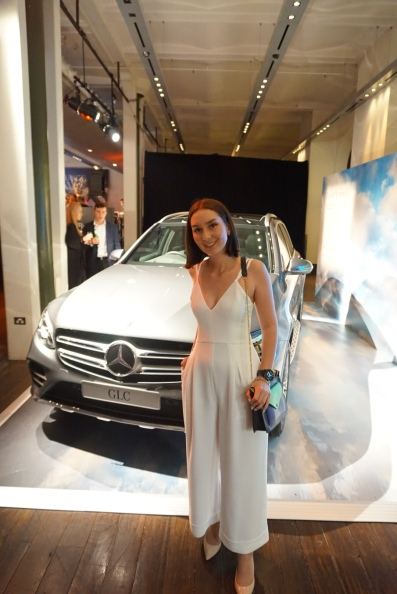 I love my cars, my fashion and my technology. Outfit: Bianca Spender Jumpsuit (Made in Australia), Nine West pumps, Celine bag, LG G Watch R, Peach Box Bracelet, Chanel CC earrings @ Festival Hub