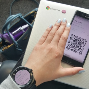 Using Google Now, I can even access my boarding pass on my watch!